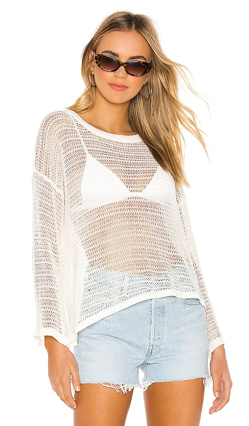Kelsey Pullover Sweater by superdown, available on revolve.com for $54 Natasha Oakley Top SIMILAR PRODUCT