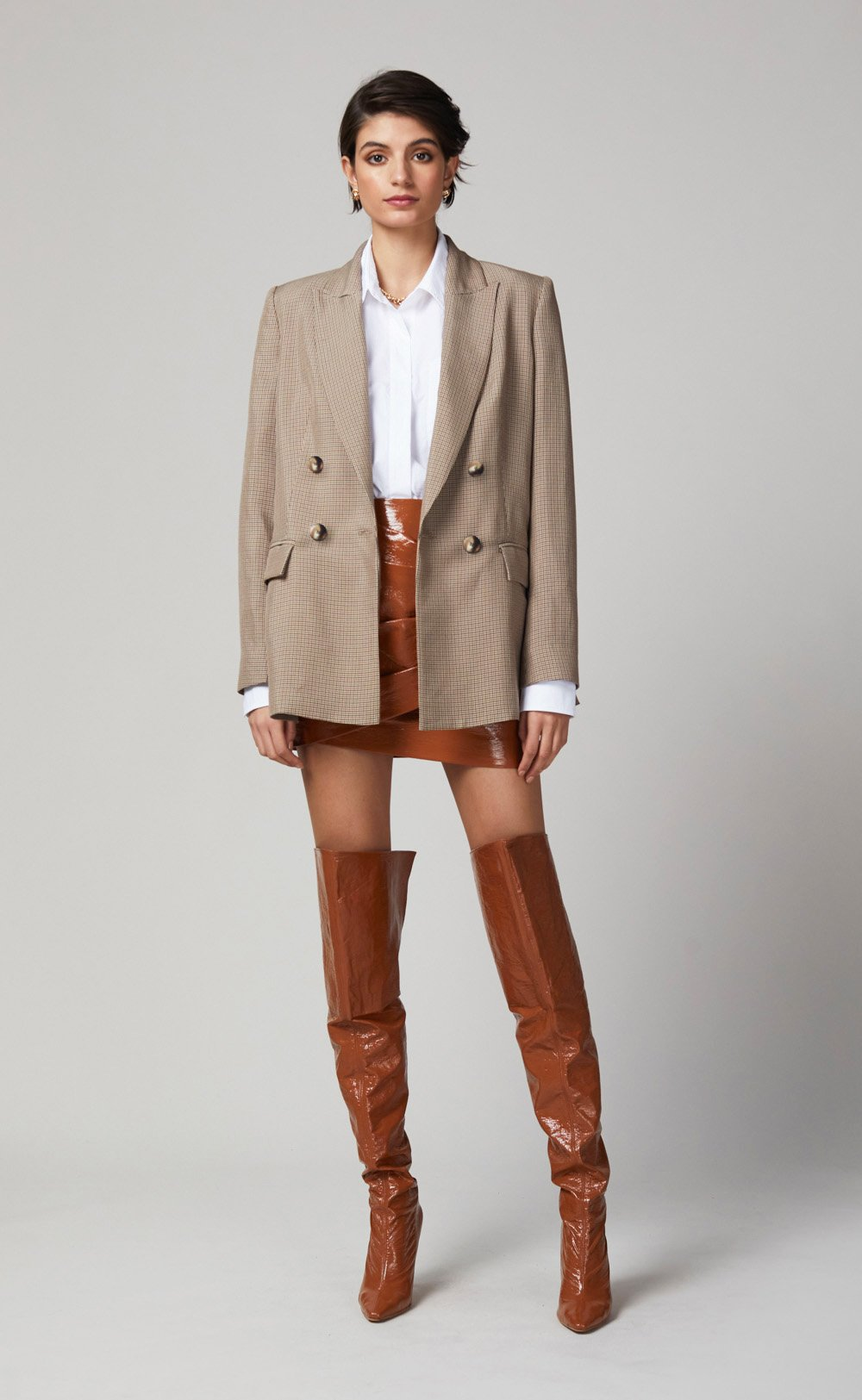 PERCY BLAZER by Bec + Bridge, available on becandbridge.com.au for $550 Natasha Oakley Outerwear Exact Product