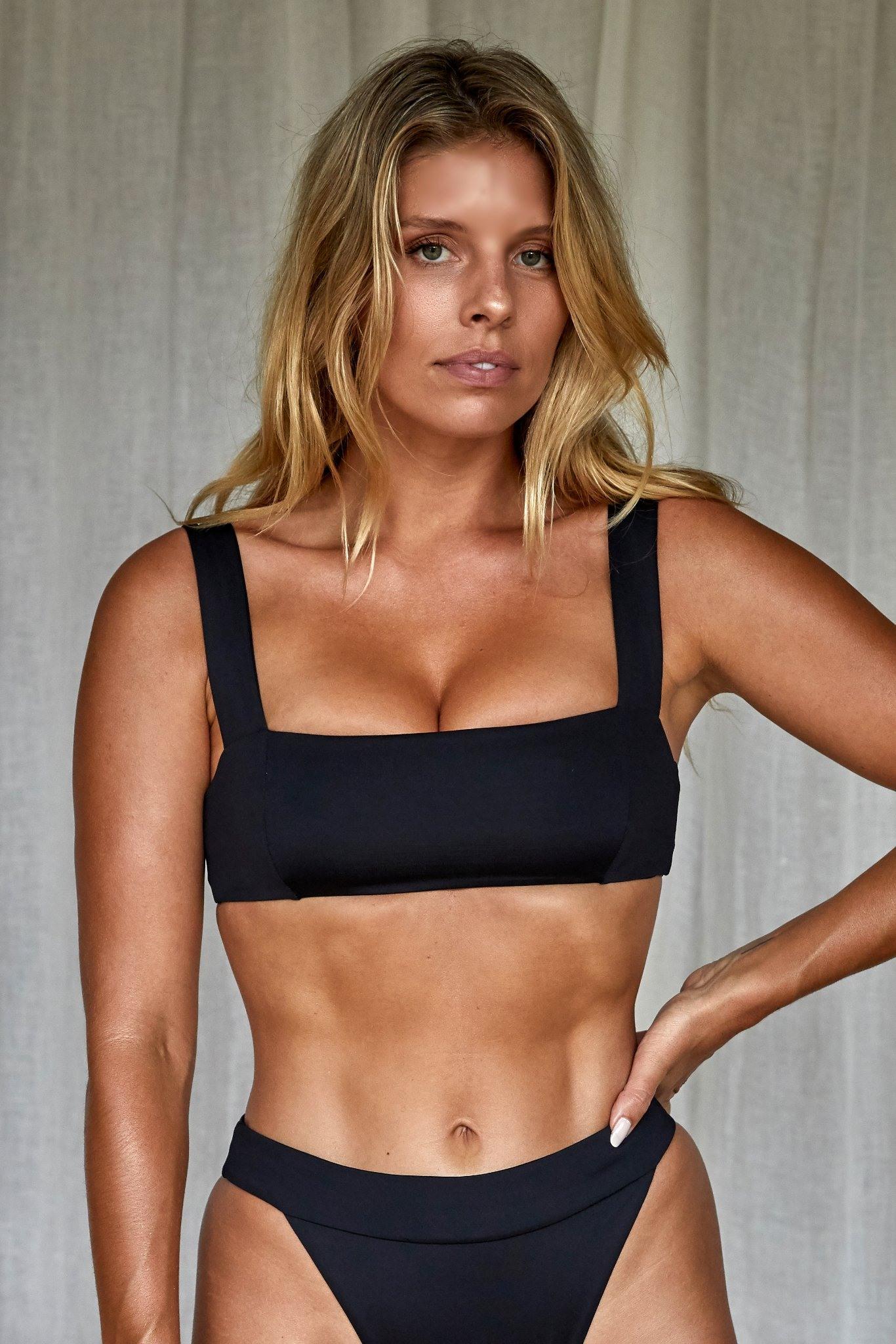 Puerto Rico Top by Monday Swimwear, available on mondayswimwear.com for $89 Natasha Oakley Top Exact Product