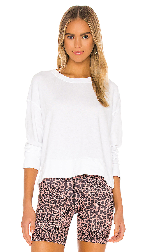 Relaxed Crop Pullover by James Perse, available on revolve.com for $135 Natasha Oakley Top SIMILAR PRODUCT