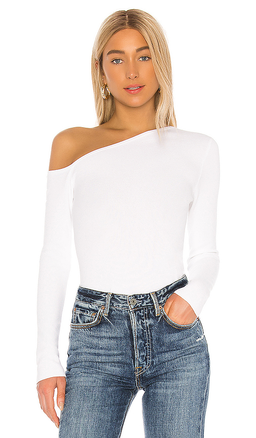 X REVOLVE Asymmetrical Pullover Top by 525 america, available on revolve.com for $88 Natasha Oakley Top SIMILAR PRODUCT