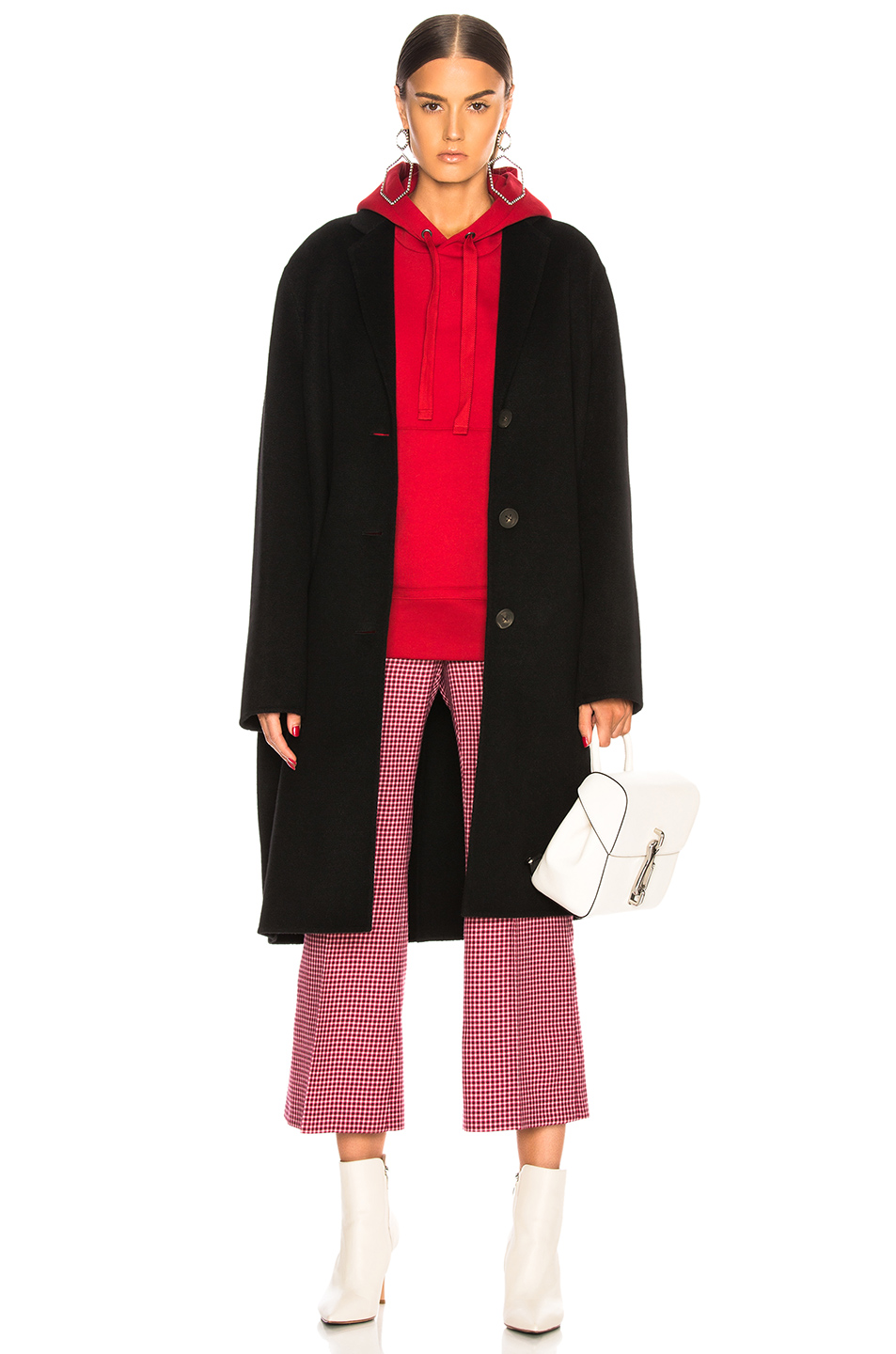 Avalon Double Coat by Acne Studios, available on fwrd.com for $1150 Olivia Culpo Outerwear Exact Product