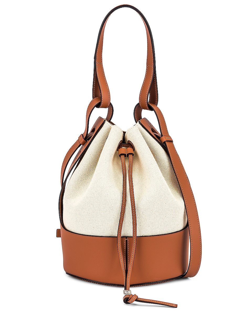Balloon Bag by Loewe, available on fwrd.com for $2650 Olivia Culpo Bags Exact Product