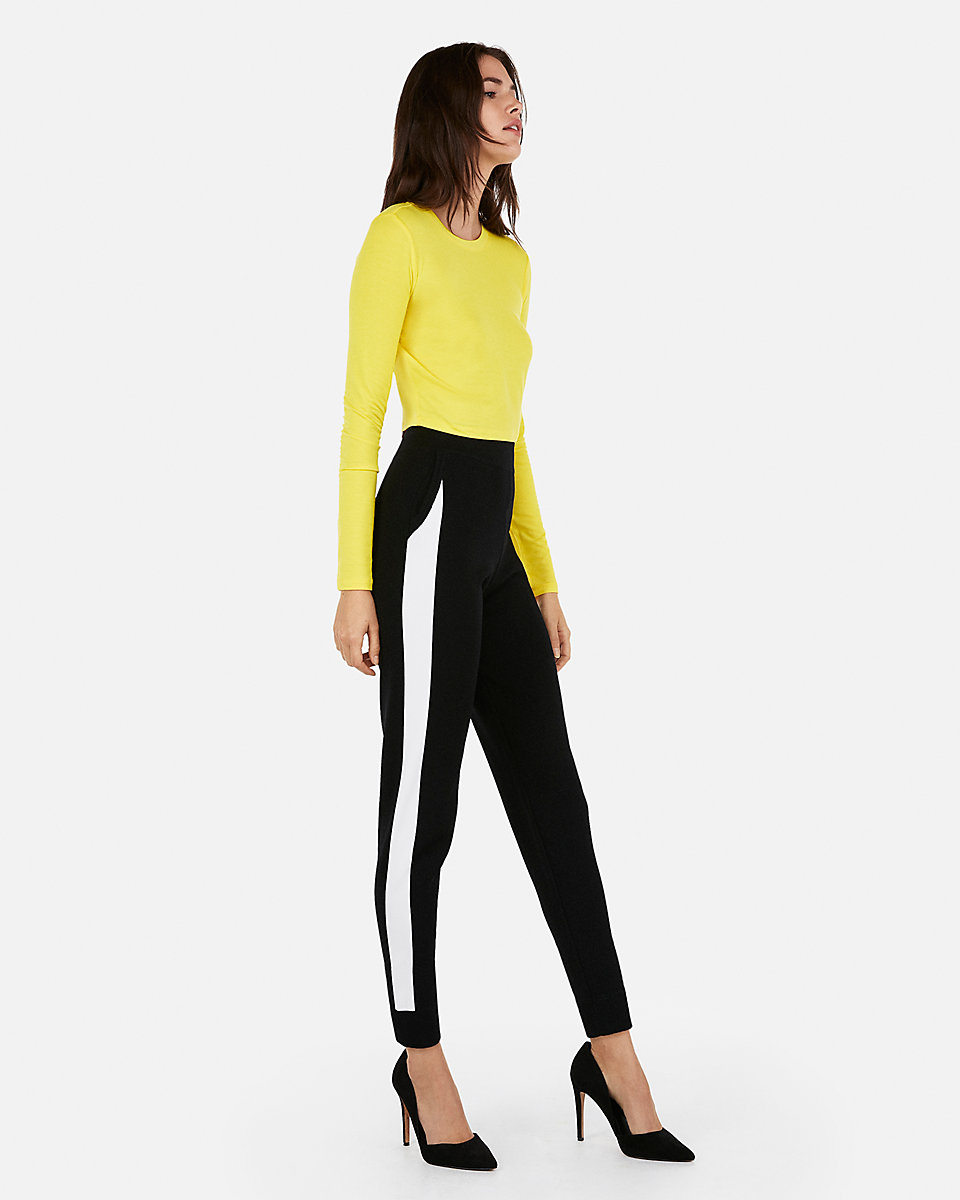 Black 58 by Express, available on express.com for $79.9 Olivia Culpo Pants Exact Product