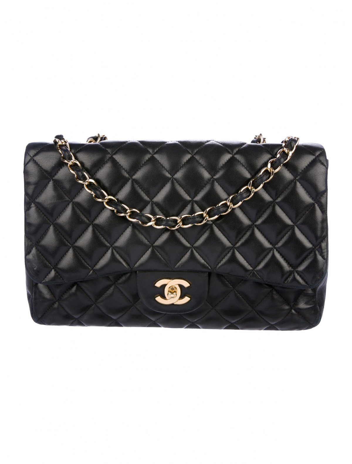 Classic Jumbo Single Flap Bag by Chanel, available on therealreal.com for $3800 Olivia Culpo Bags Exact Product
