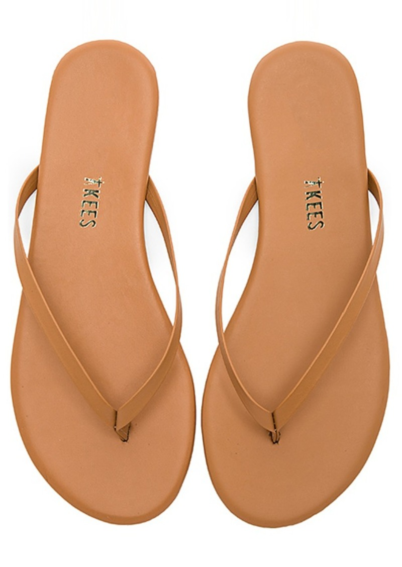 Foundations Matte Flip Flop by TKEES, available on revolve.com for $50 Olivia Culpo Shoes Exact Product