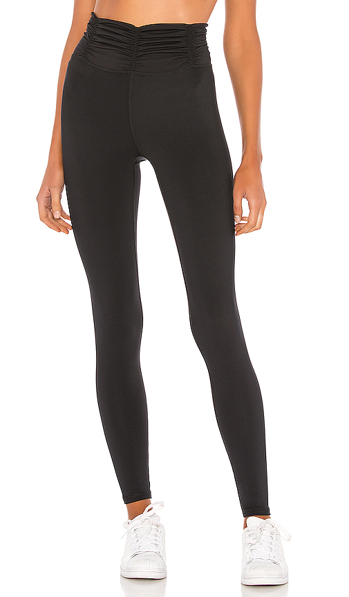High Scrunchy Legging by Body Language, available on revolve.com for $98 Olivia Culpo Pants SIMILAR PRODUCT