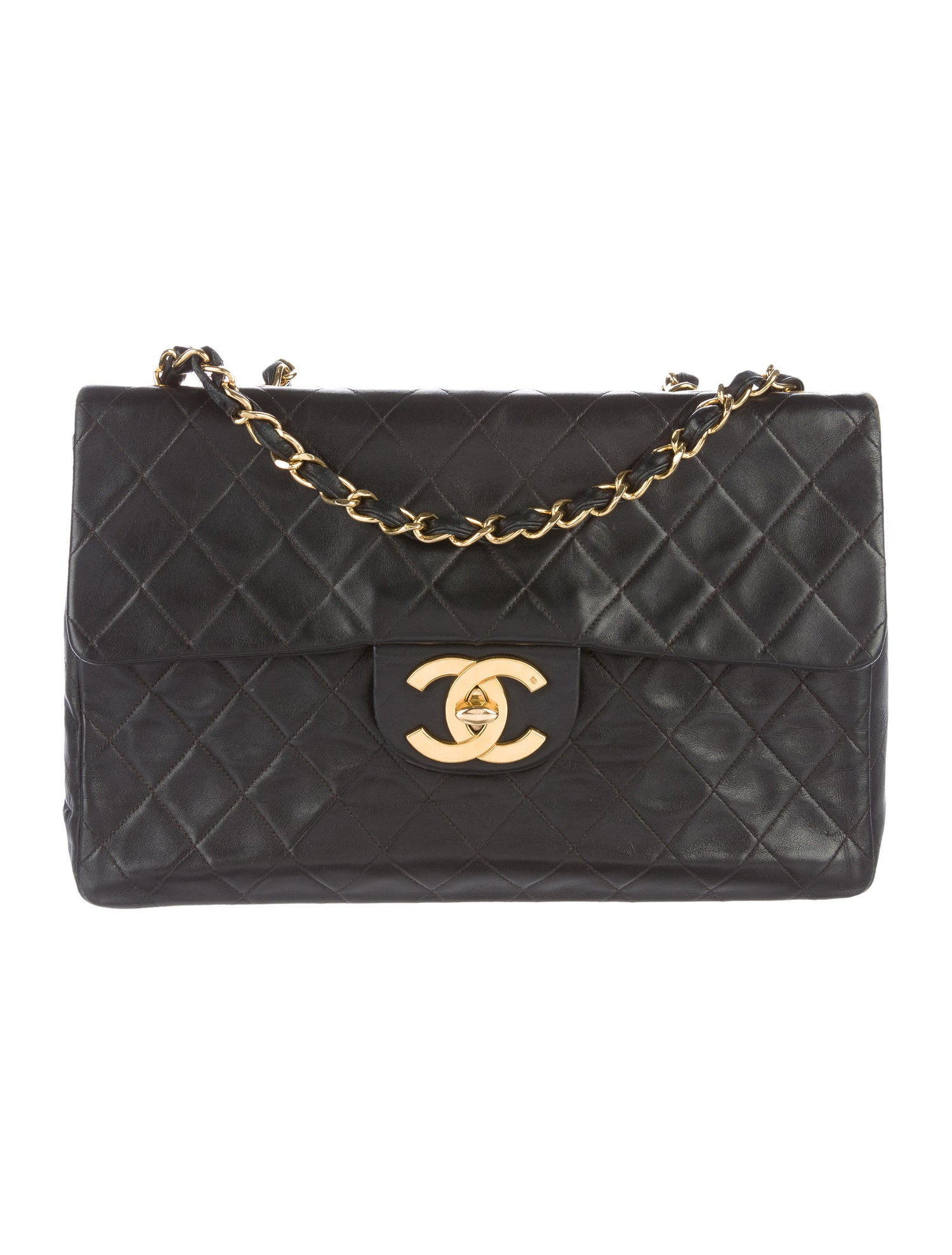 Jumbo XL Maxi Flap Bag by Chanel, available on therealreal.com for $2900 Olivia Culpo Bags Exact Product