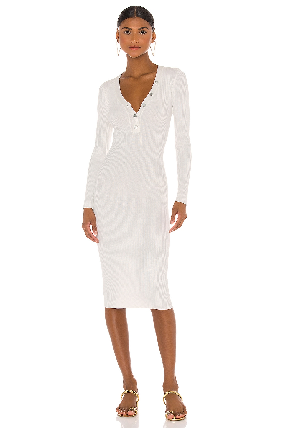 Kenny Midi Dress Privacy Please brand by Privacy Please, available on revolve.com for $140 Olivia Culpo Dress Exact Product