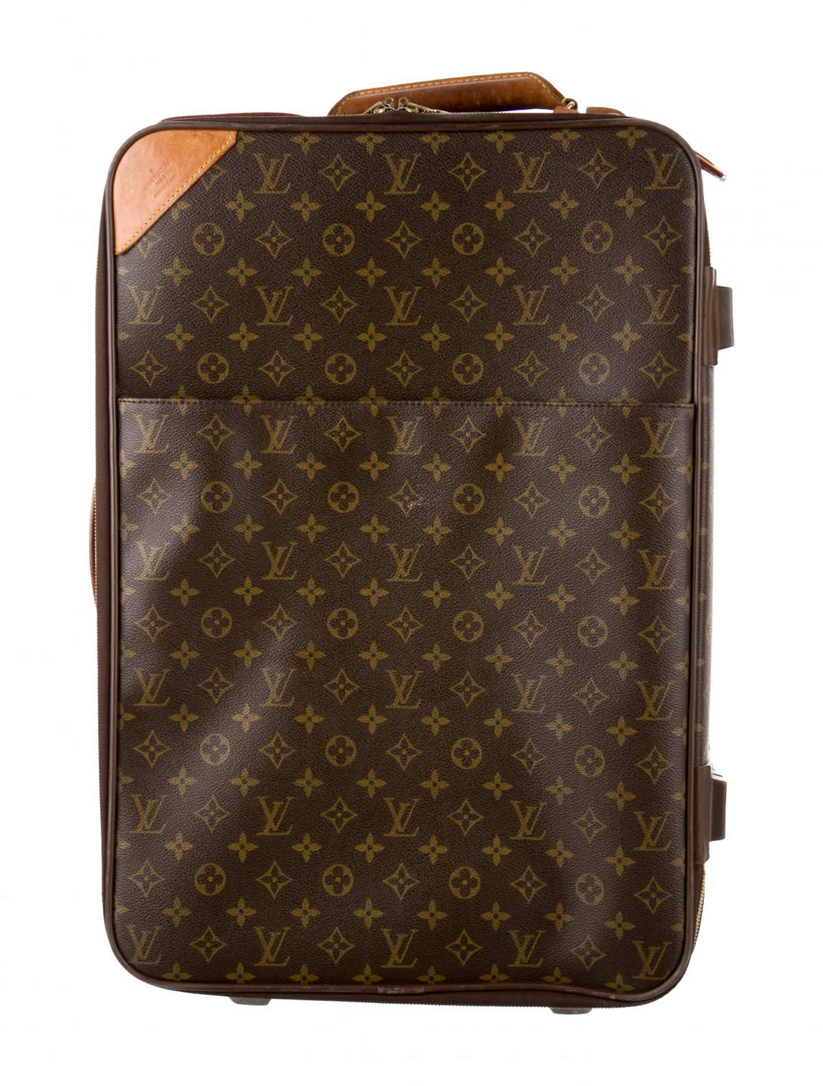 Monogram Pegase 95 by Louis Vuitton, available on therealreal.com for $1895 Olivia Culpo Bags Exact Product