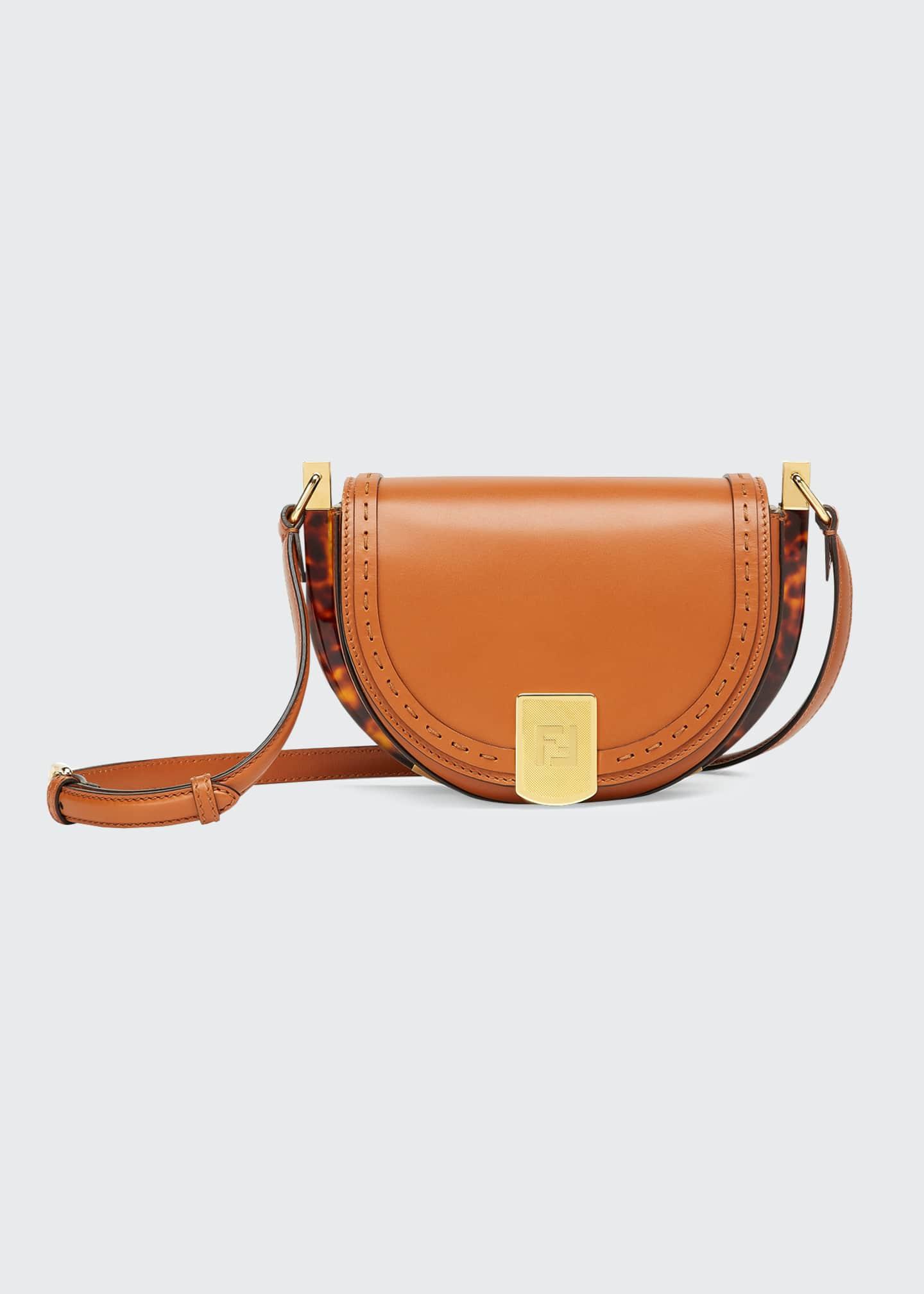 Moonlight Saddle Crossbody Bag by Fendi, available on bergdorfgoodman.com for $2100 Olivia Culpo Bags Exact Product