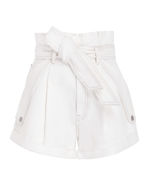 Pocket Short  POCKET SHORT by Zimmermann, available on zimmermannwear.com for $450 Olivia Culpo Shorts Exact Product