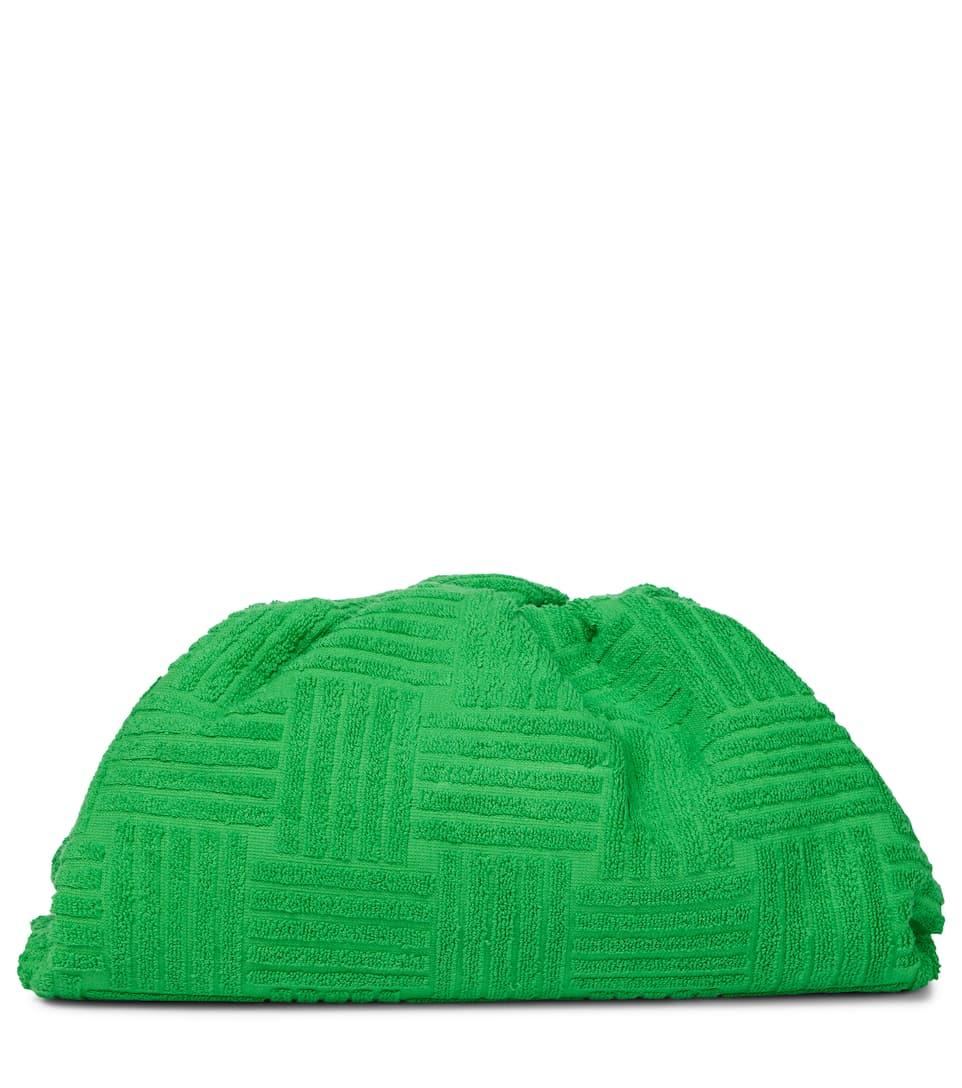 Pouch Medium jacquard clutch by BOTTEGA VENETA, available on mytheresa.com for $1 Olivia Culpo Bags Exact Product