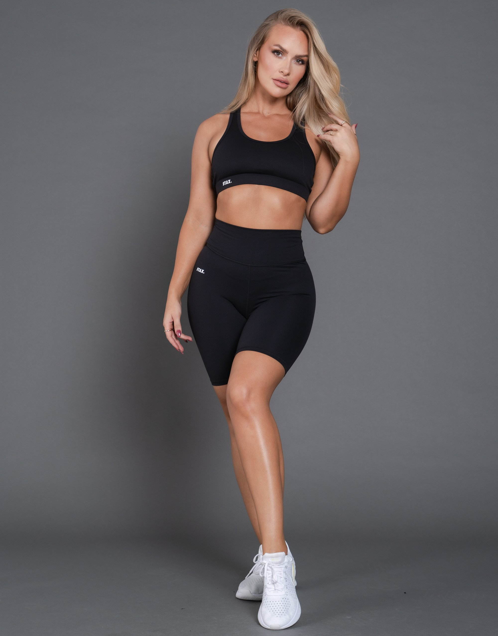 STAX. BEST BLACK BIKE SHORTS by Nike, available on stax.com.au for $49 Olivia Culpo Shorts Exact Product