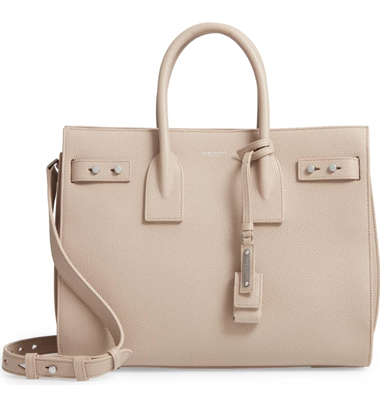 Small Sac de Jour Tote by Saint Laurent, available on nordstrom.com for $2990 Olivia Culpo Bags Exact Product