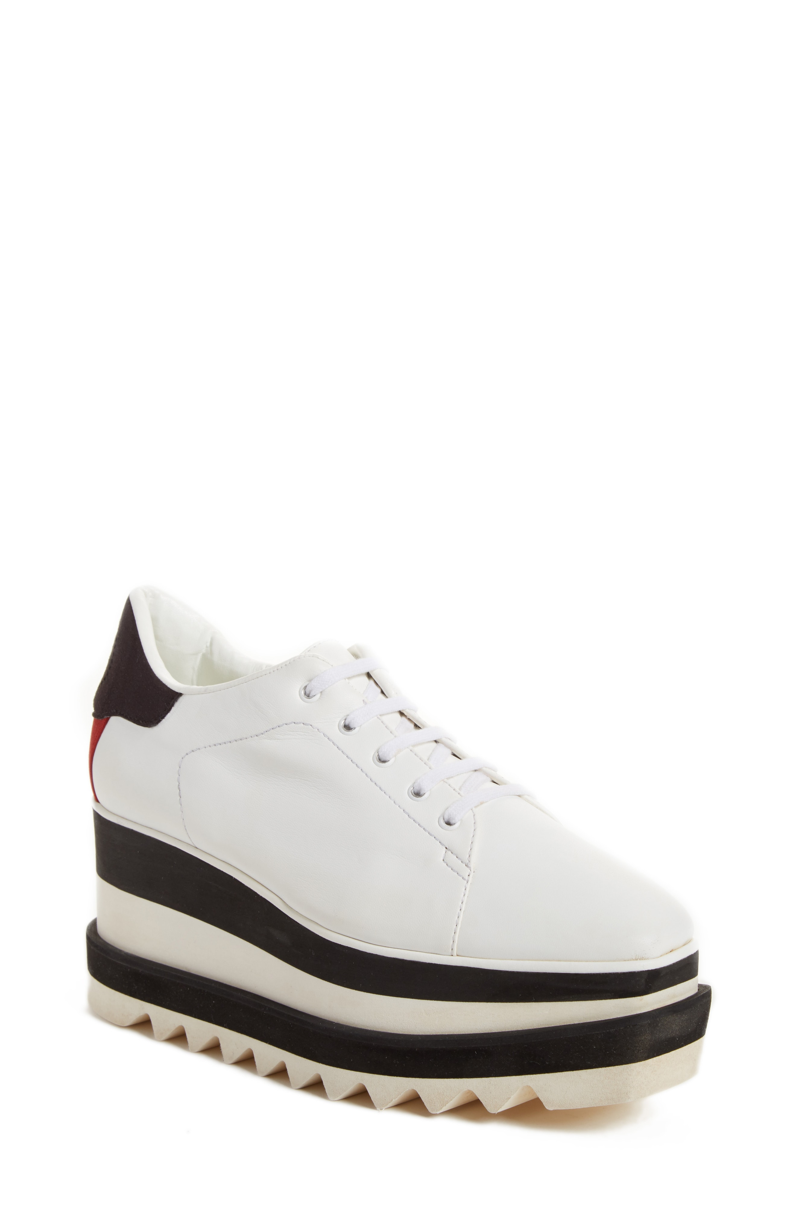 Sneak-Elyse Flatform Sneaker by Stella McCartney, available on nordstrom.com for $695 Olivia Culpo Shoes Exact Product