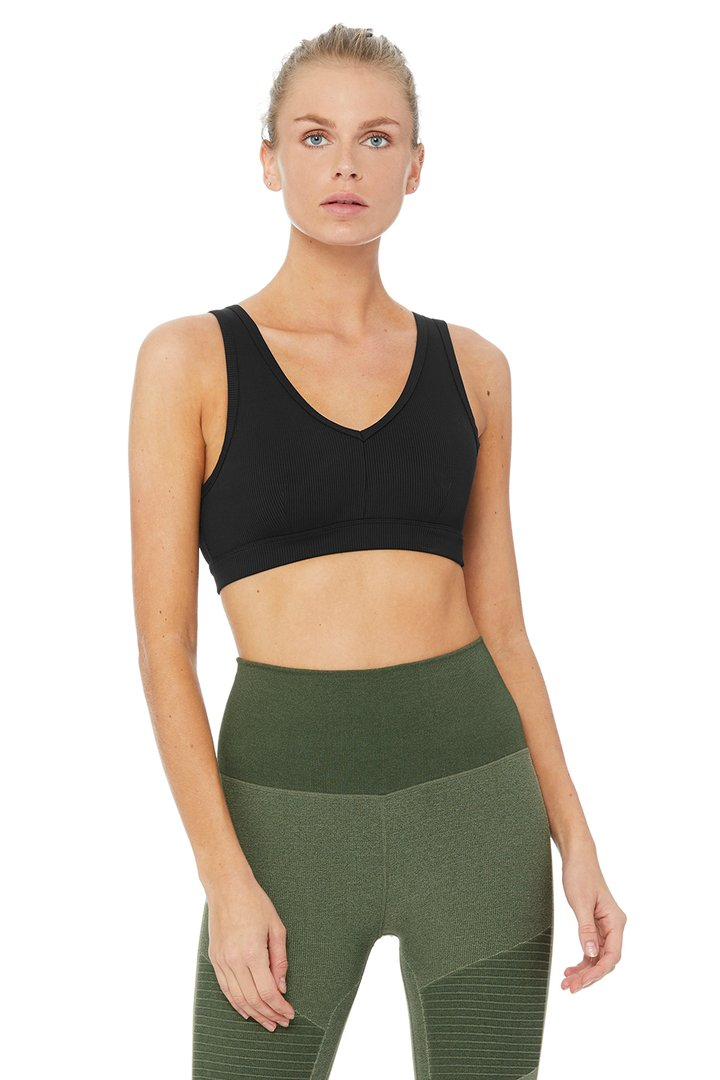 Togetherness Bra by Alo Yoga, available on aloyoga.com for $62 Olivia Culpo Top SIMILAR PRODUCT