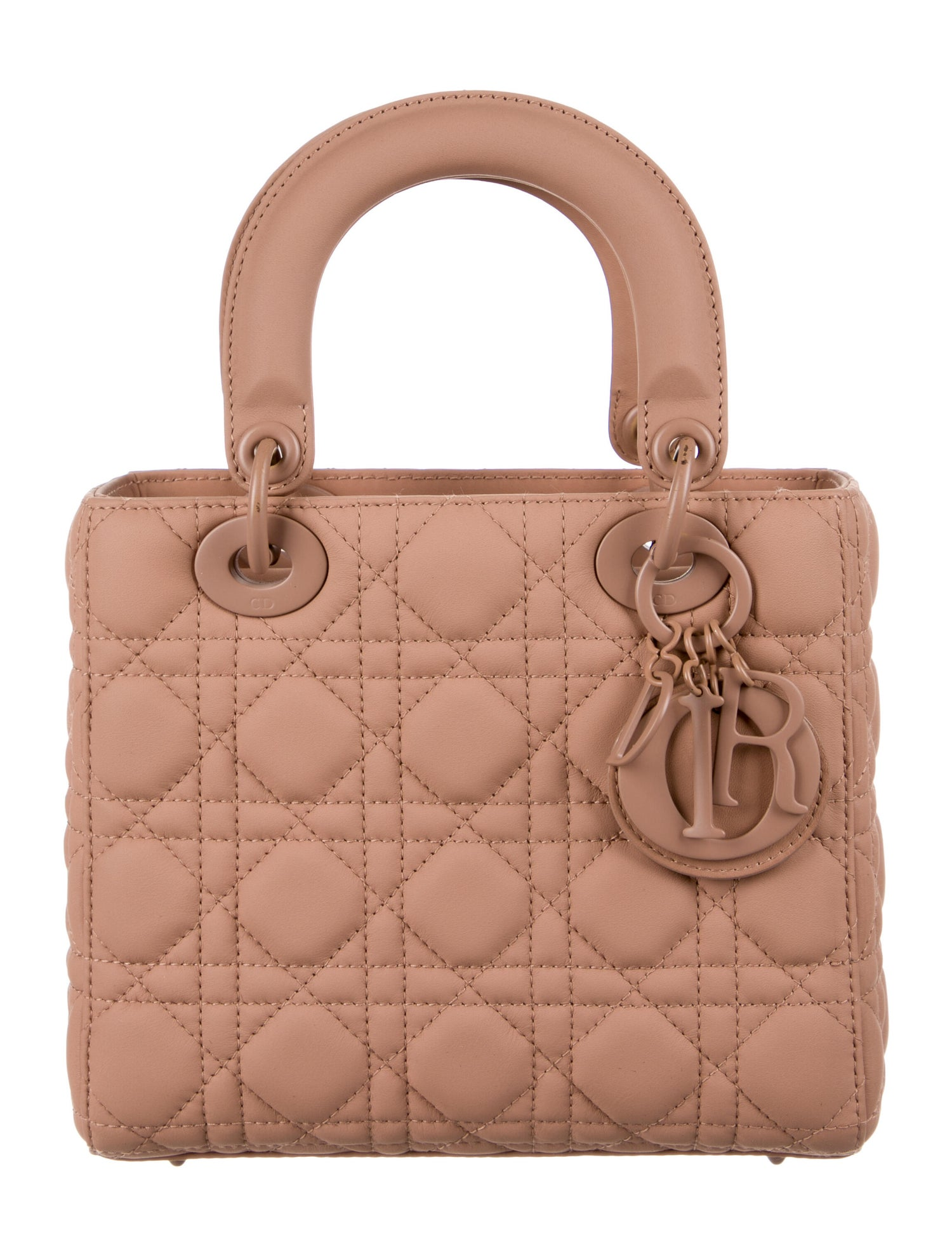 Ultramatte Lady Dior My ABCDior Bag by CHRISTIAN DIOR, available on therealreal.com for $4400 Olivia Culpo Bags Exact Product