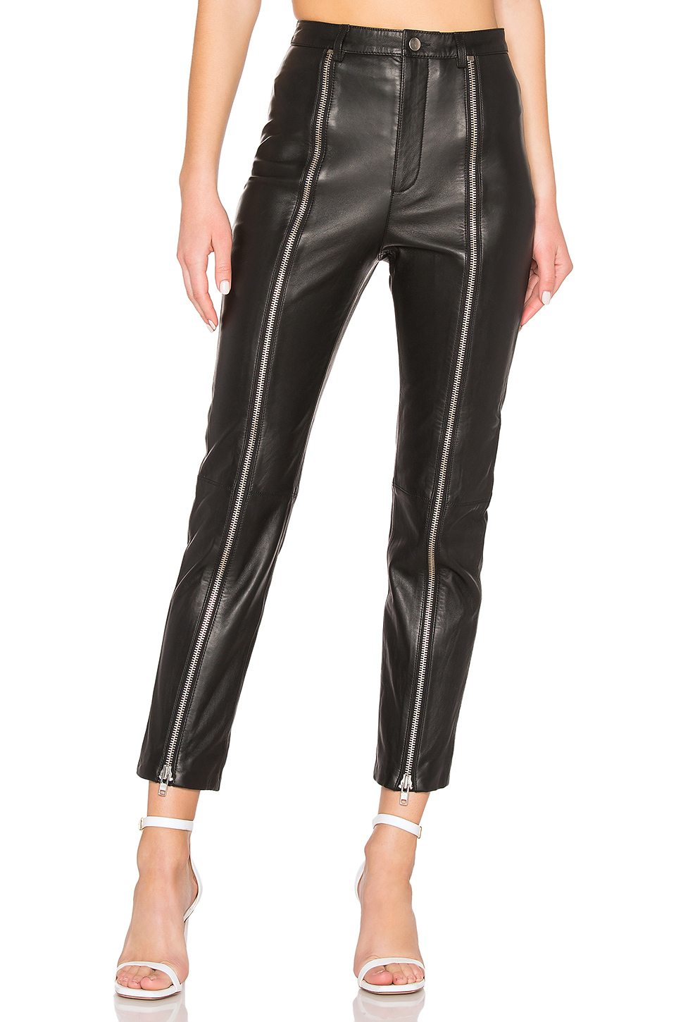 Zip Up Pant by LPA, available on revolve.com for $498 Olivia Culpo Pants Exact Product