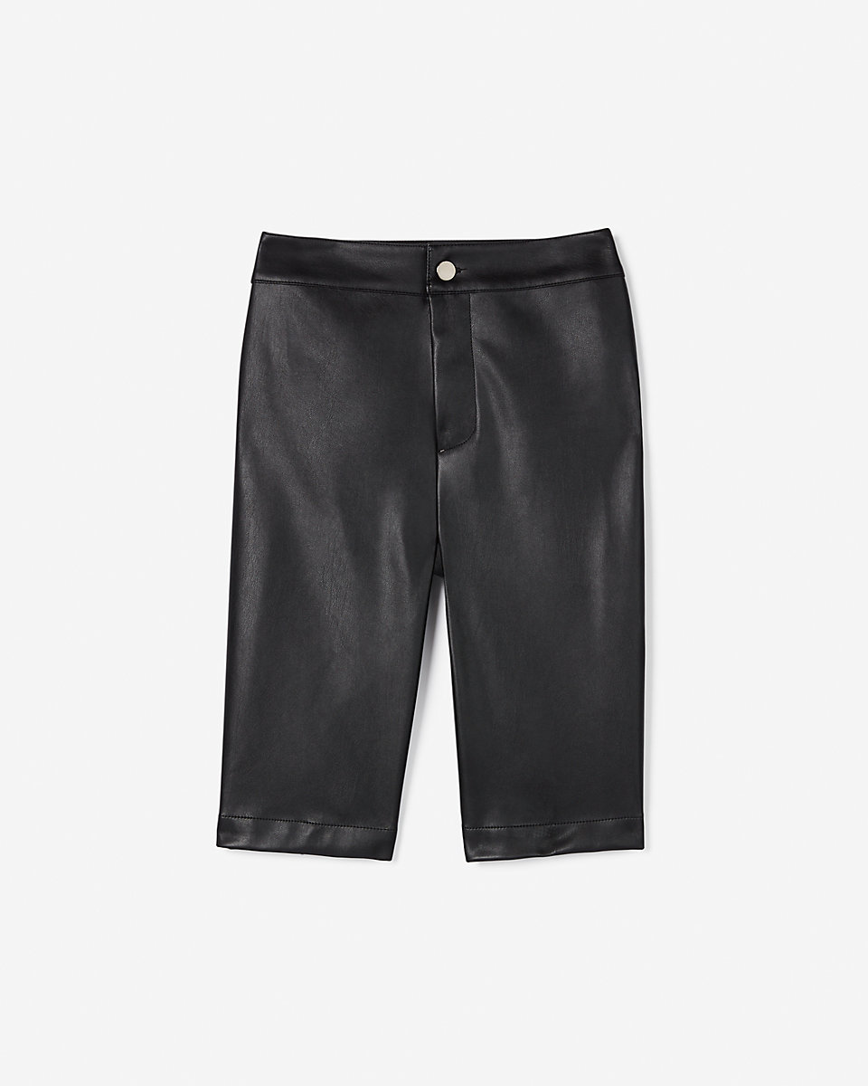 leather bermuda shorts by Express X Olivia Culpo, available on express.com for $70 Olivia Culpo Shorts Exact Product