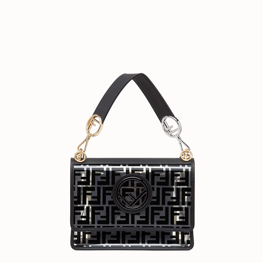 transparent canvas bag by Fendi, available on fendi.com for $2490 Olivia Culpo Bags Exact Product