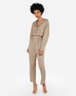 utility jumpsuit by Express, available on express.com for $88 Olivia Culpo Dress Exact Product