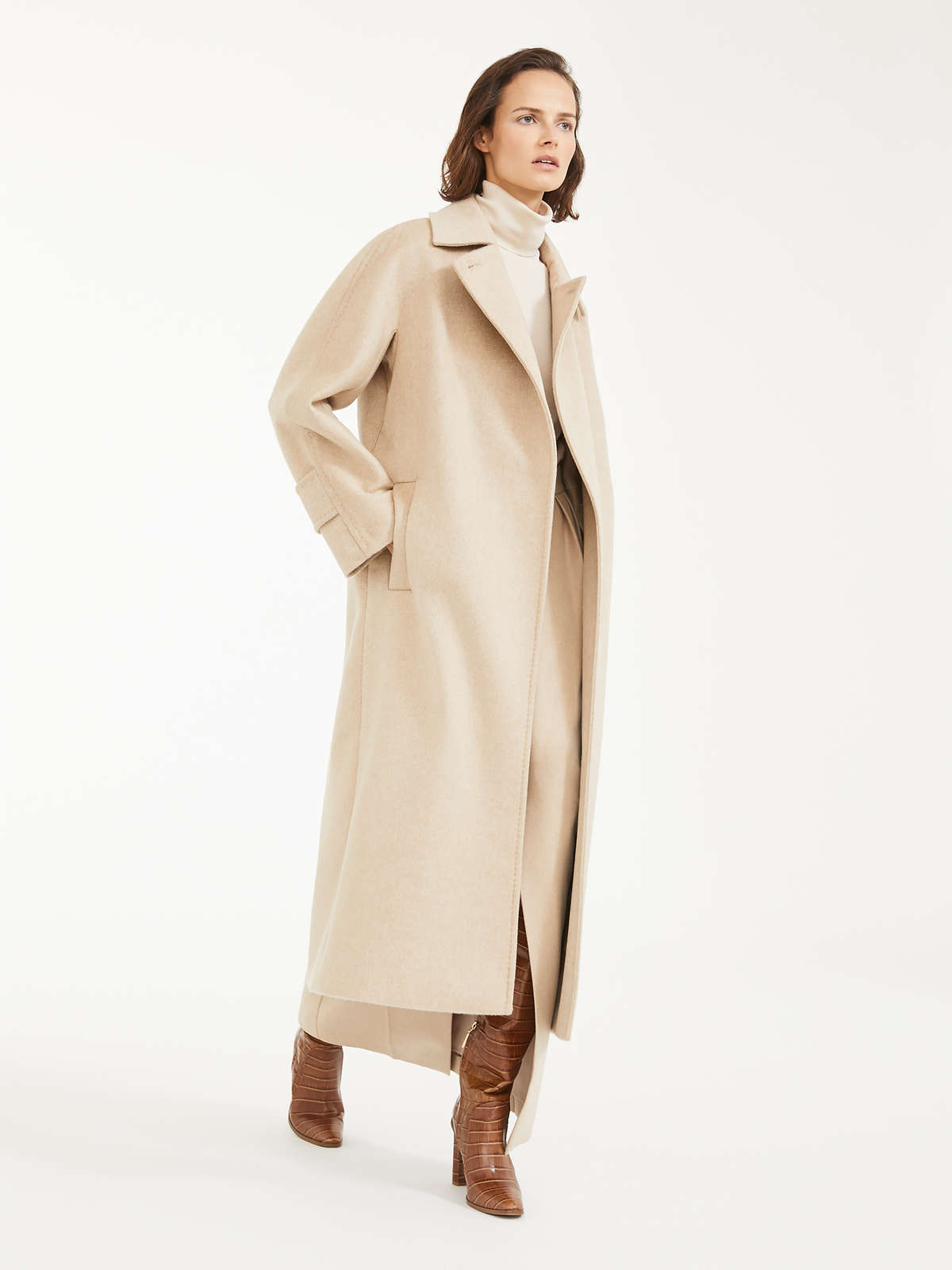 Camel and cashmere coat by Max Mara, available on maxmara.com for $4403 Priyanka Chopra Outerwear Exact Product