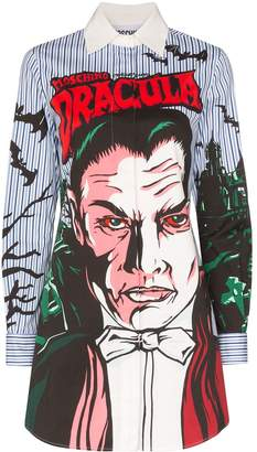Monster Dracula print stripe shirt dress by Moschino, available on shopstyle.com for $675981 Priyanka Chopra Dress Exact Product