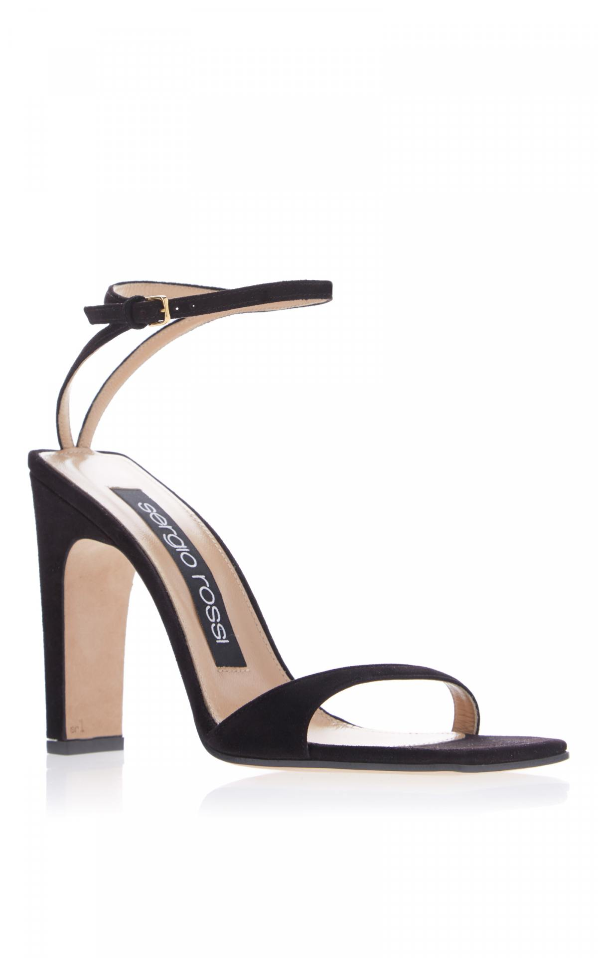 SR1 Square Toe Sandal by Sergio Rossi, available on modaoperandi.com for $730 Priyanka Chopra Shoes Exact Product