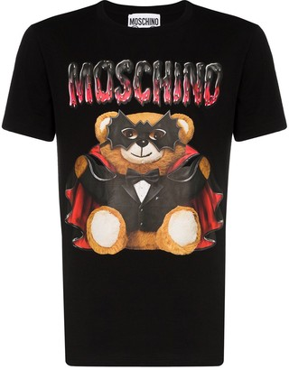 teddy-print cotton T-shirt by Moschino, available on shopstyle.com for $244245 Priyanka Chopra Dress SIMILAR PRODUCT