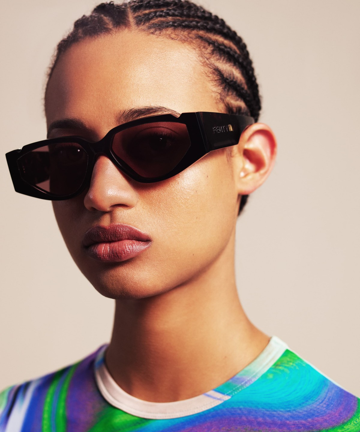 OFF RECORD SUNGLASSES by USD, available on fenty.com for $330 Rihanna Hat Exact Product