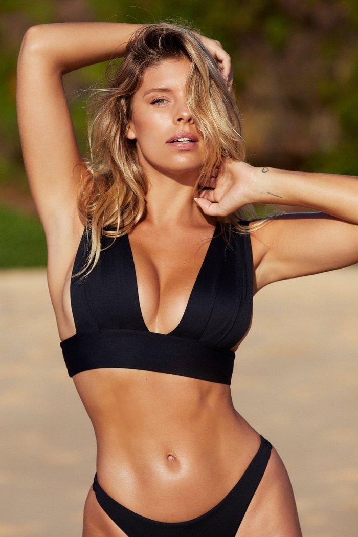 Aruba Top - Black by Monday Swimwear, available on mondayswimwear.com for $94 Rita Ora Top SIMILAR PRODUCT