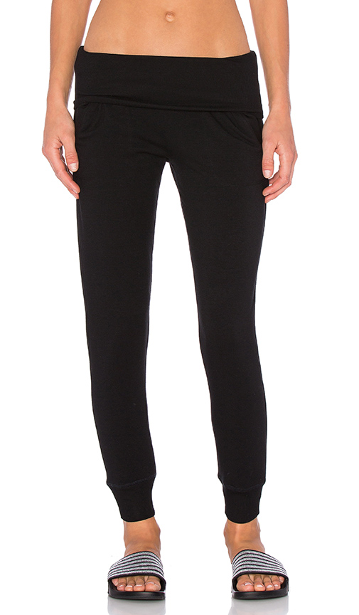 Cozy Fleece Foldover Sweatpant by Beyond Yoga, available on revolve.com for $99 Rita Ora Pants SIMILAR PRODUCT