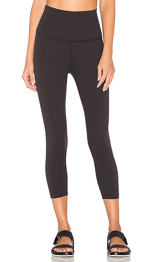 High Waist Capri Legging by Beyond Yoga, available on revolve.com for $80 Rita Ora Pants SIMILAR PRODUCT
