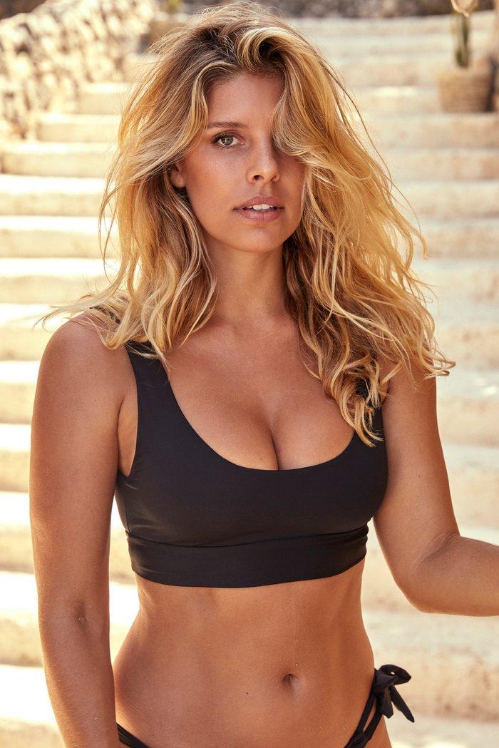 Jamaica Top - Black by Monday Swimwear, available on mondayswimwear.com for $89 Rita Ora Top SIMILAR PRODUCT
