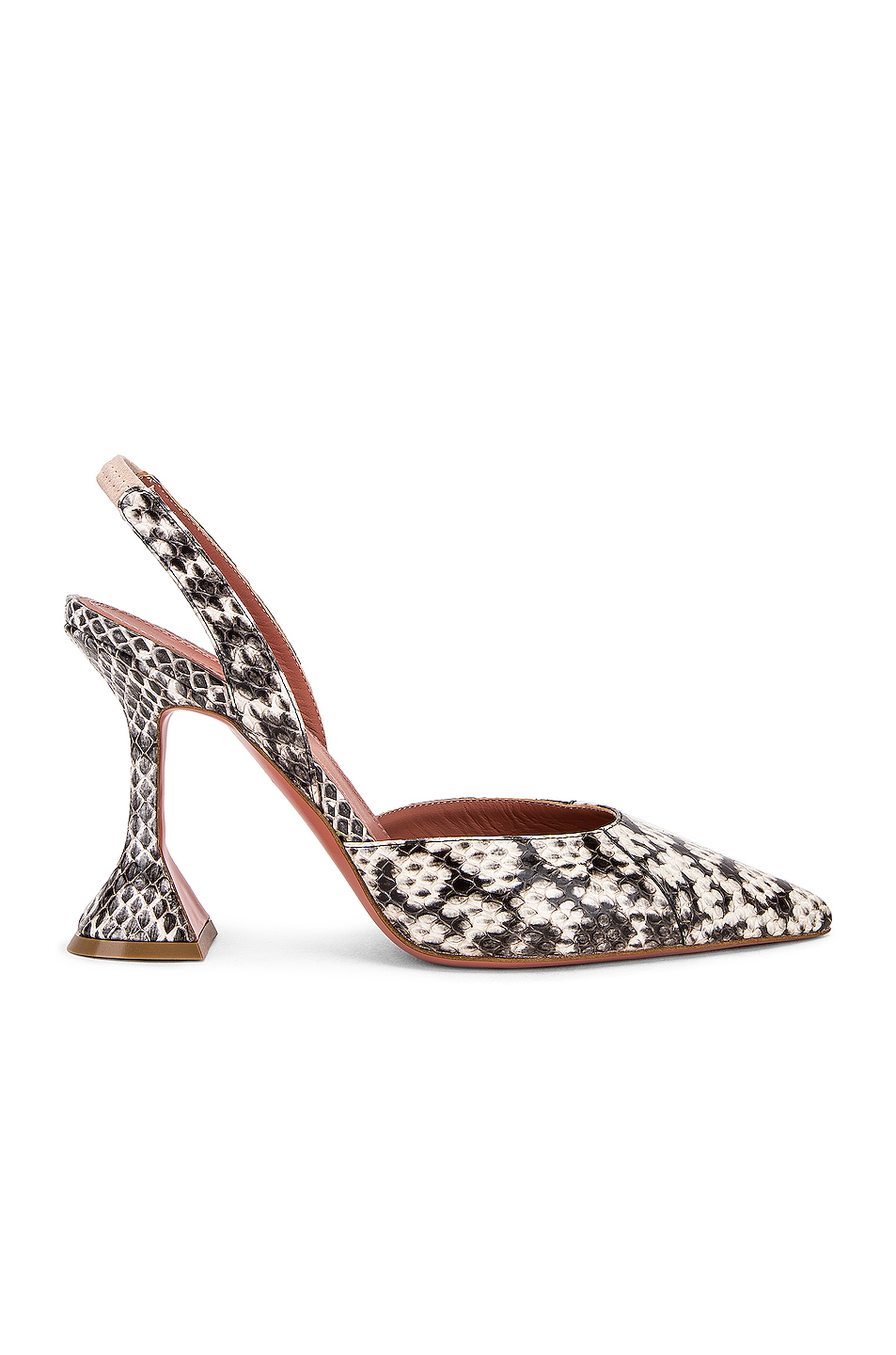 Holli Slingback Pumps by Amina Muaddi, available on fwrd.com for $830 Rosie Huntington Whiteley Shoes Exact Product