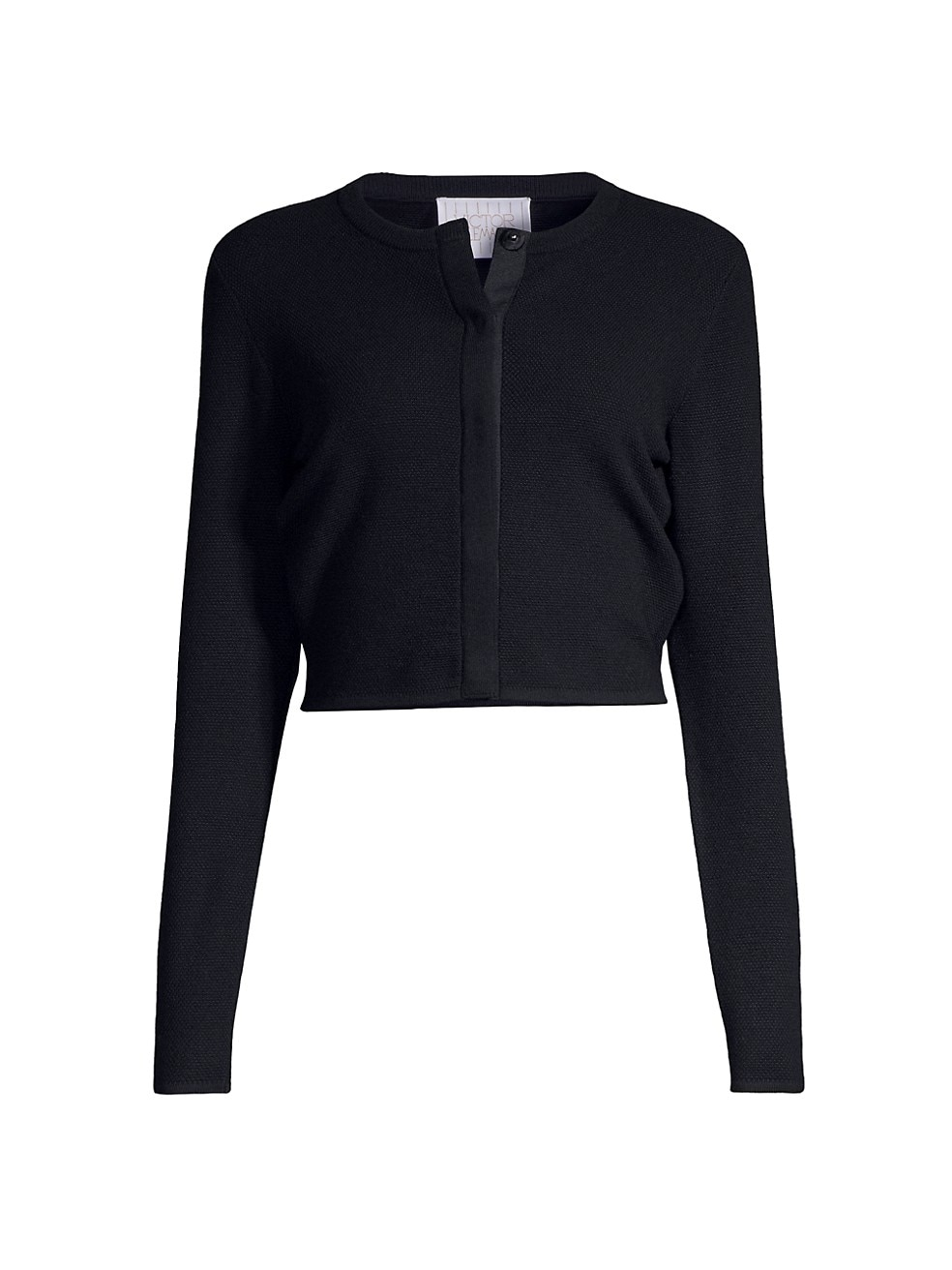Ribbed Merino Wool Cardigan by Victor Glemaud, available on saksfifthavenue.com for $395 Selena Gomez Outerwear Exact Product