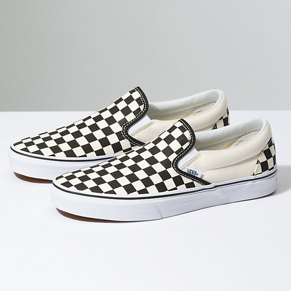 CHECKERBOARD SLIP-ON by Vans, available on vans.com for $55 Taylor Hill Shoes Exact Product