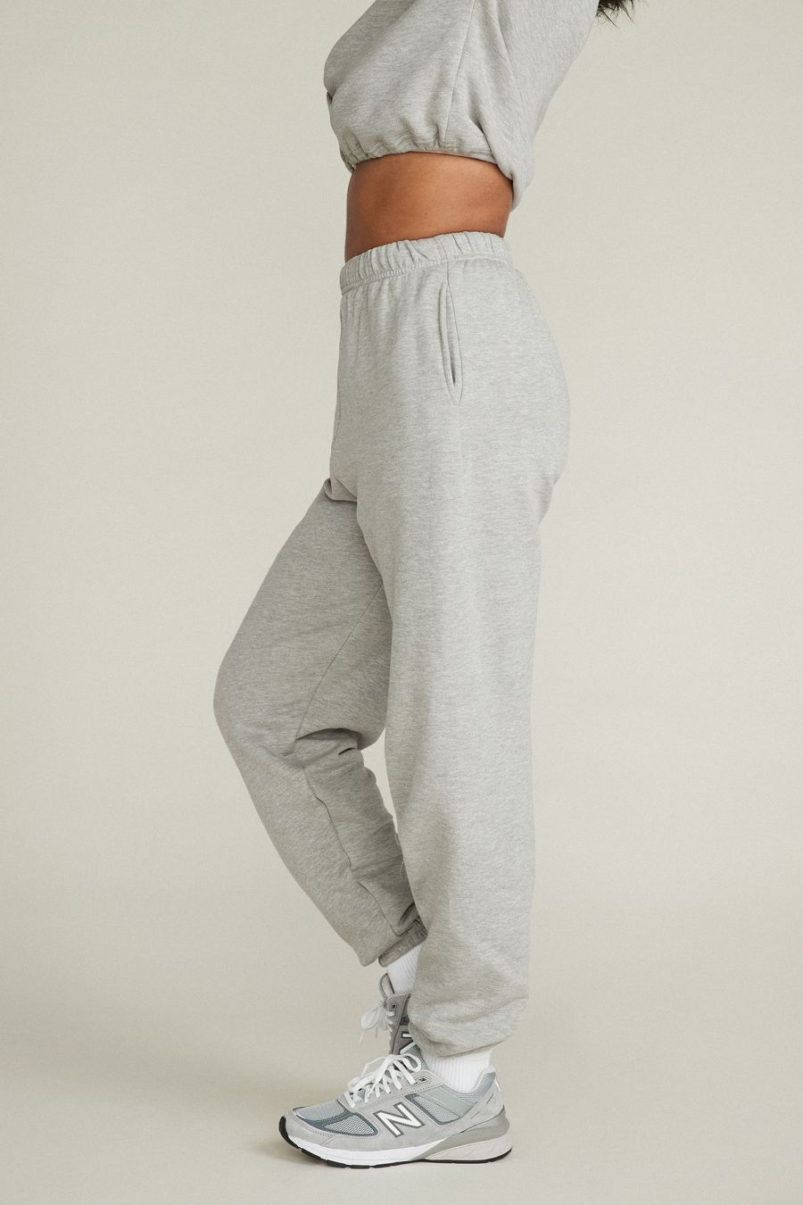 GINA SWEATPANTS - HEATHER GREY by Belen, available on shopwithbelen.com for $80 Taylor Hill Pants Exact Product