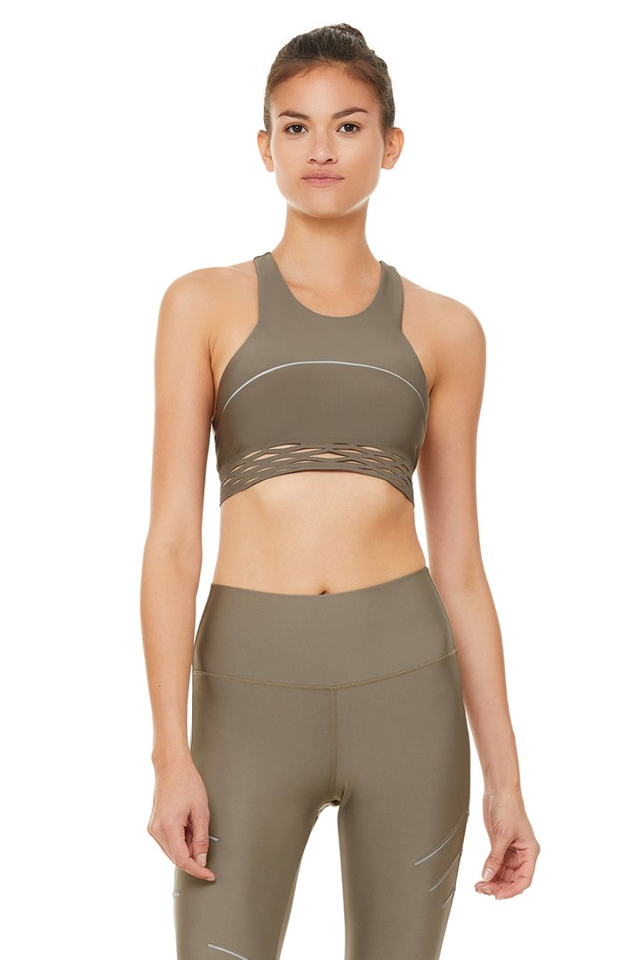 Sequence Bra by Alo Yoga, available on aloyoga.com for $68 Yovanna Ventura Top SIMILAR PRODUCT